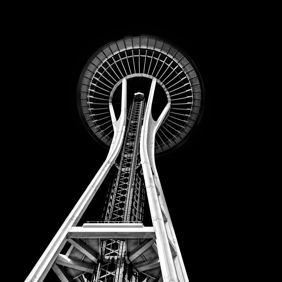 Seattle Photograph - Space Needle by Rod Sterling