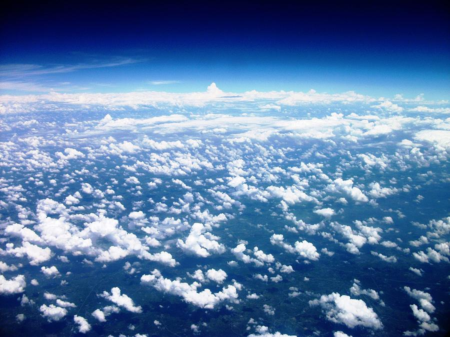 Space Photograph - Space Of Cloudz by Piety Dsilva