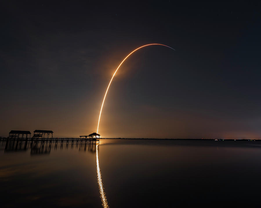 SpaceX Falcon 9 by Norman Peay