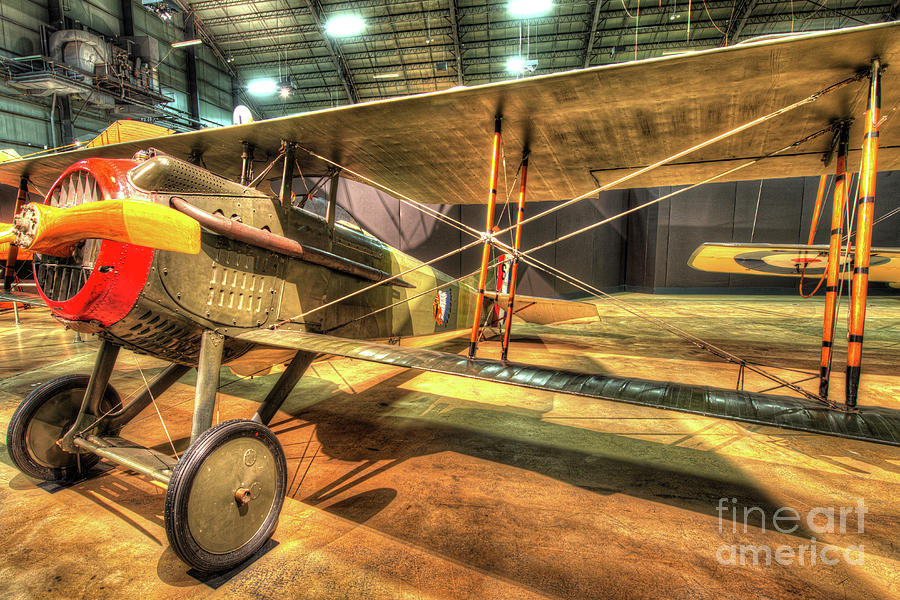 Nose Photograph - Spad Vii by Greg Hager