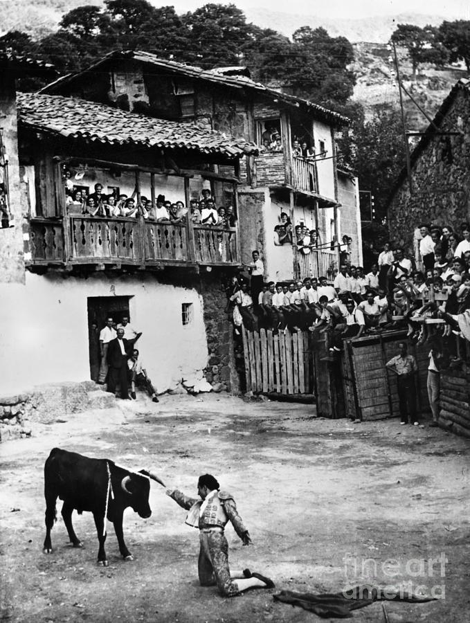 20th Century Photograph - Spain: Bullfight by Granger
