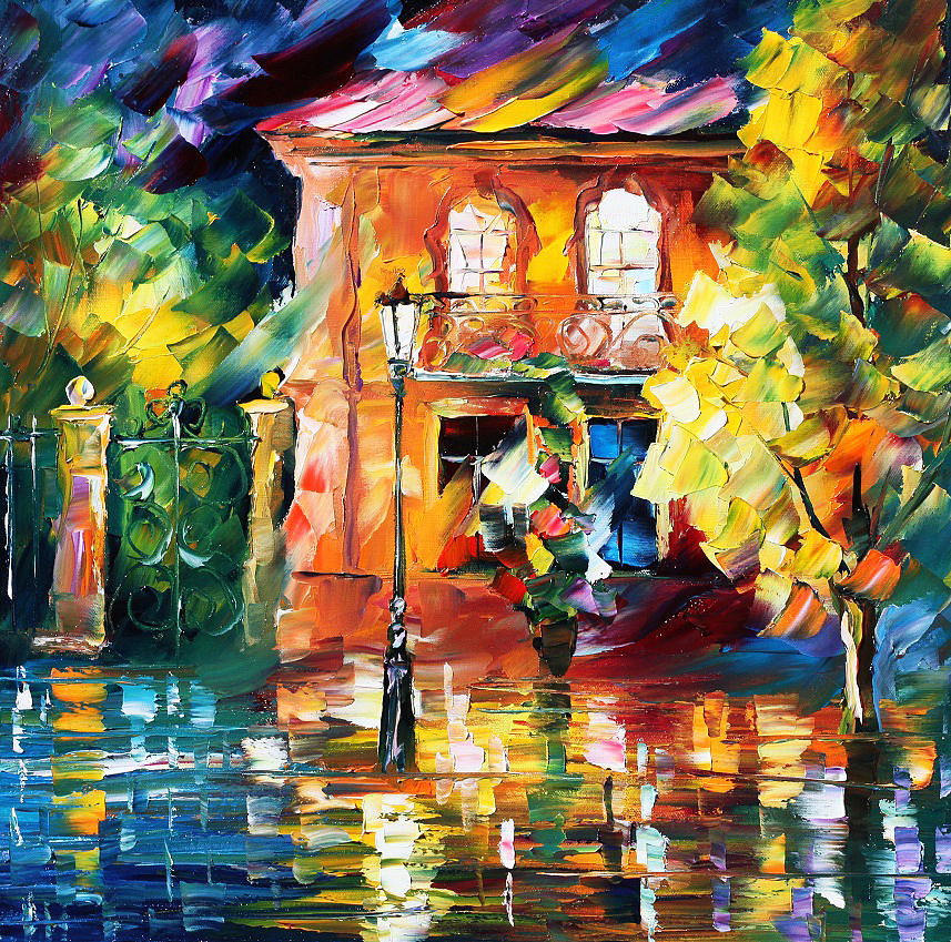 spain painting by leonid afremov