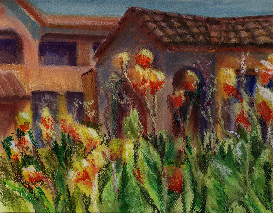 House Painting - Spanish Abode by Patricia Halstead