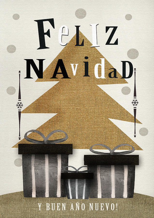 Spanish christmas greeting card digital art by viola loiva ekong m4hsunfo