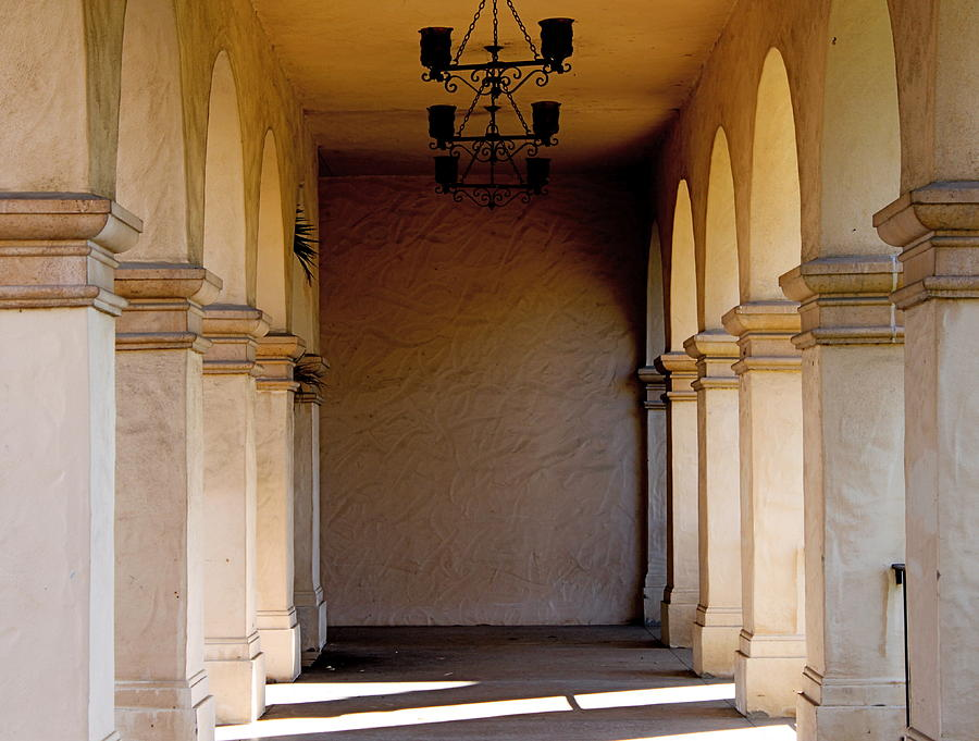 Corridors Photograph - Spanish Corridor by Rose Webber Hawke