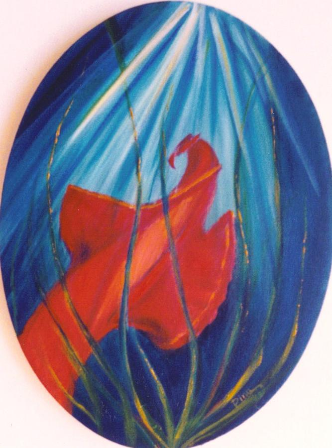 Ocean Painting - Spanish Dancer by Dina Holland