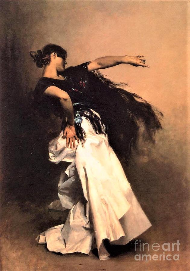 Spanish Dancer Painting