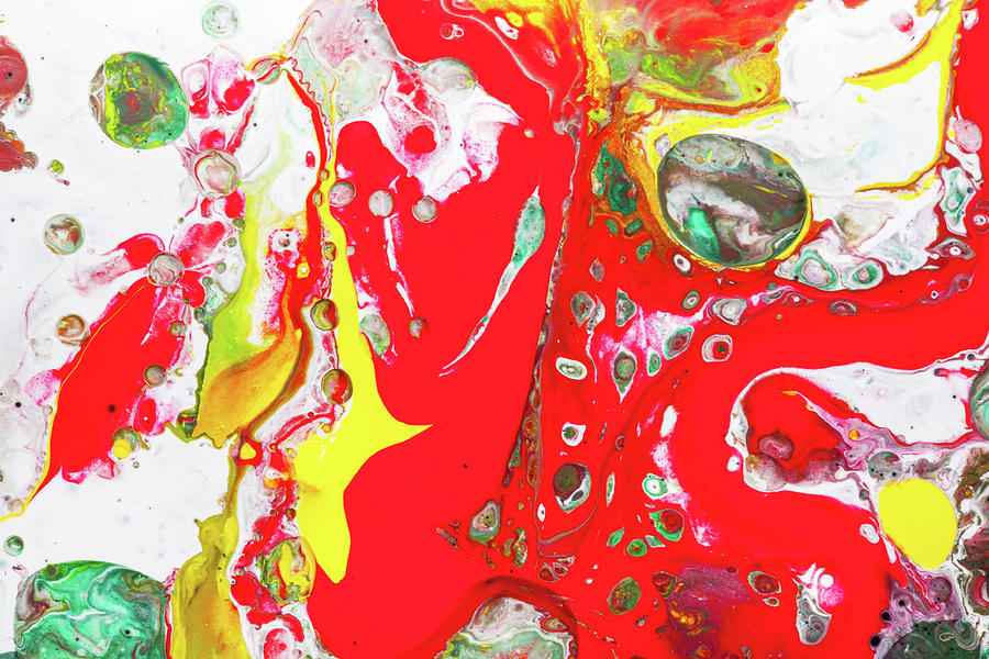 Spanish Dancers Colorful Bright Abstract Painting