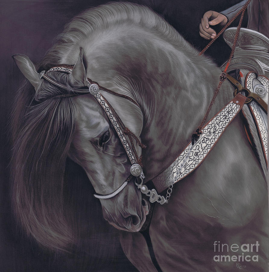 Spanish Horse Pastel