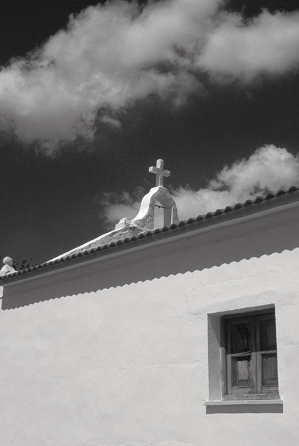 Sky Photograph - Spanish House by Douglas Pike
