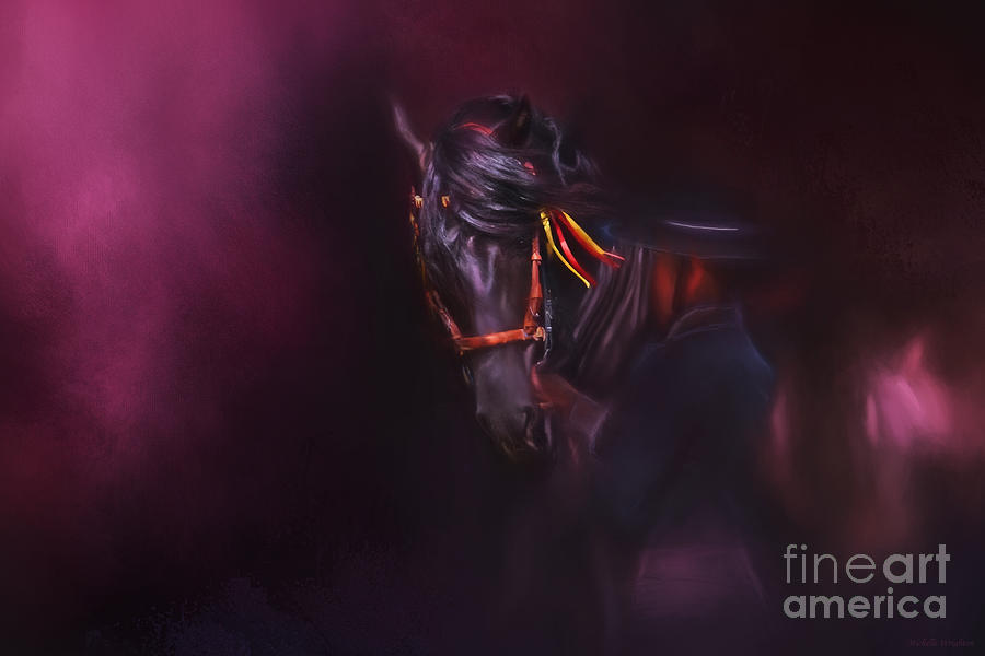 Spanish Passion - PRE Andalusian Stallion by Michelle Wrighton