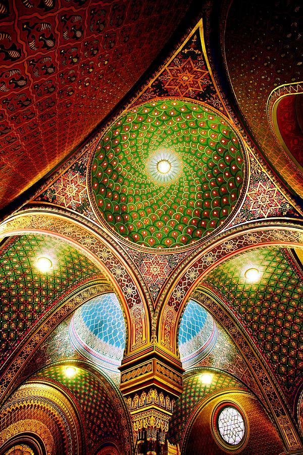 Prague Photograph - Spanish Synagogue by John Galbo