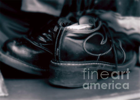 Shoes Photograph - Spare Change by K Randall Wilcox
