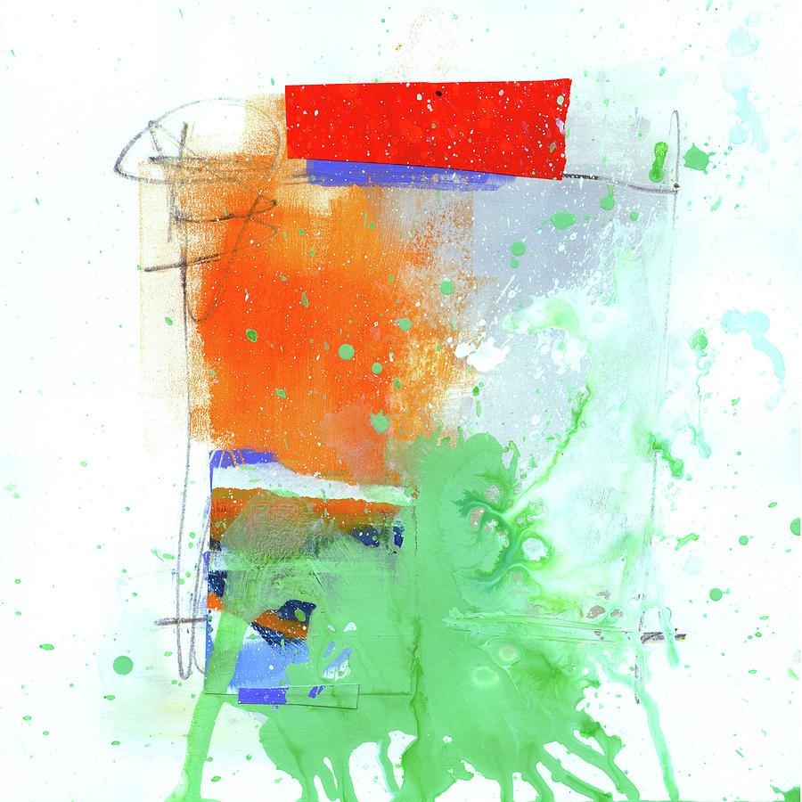 Jane Davies Painting - Spare Parts#3 by Jane Davies