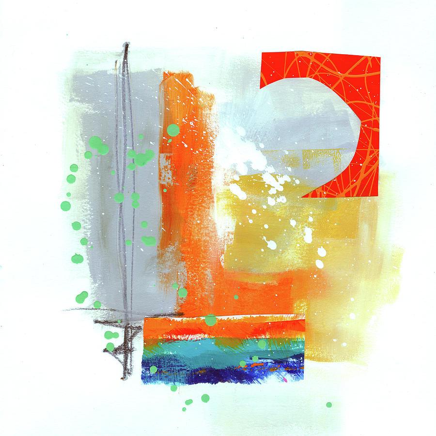 Jane Davies Painting - Spare Parts#4 by Jane Davies