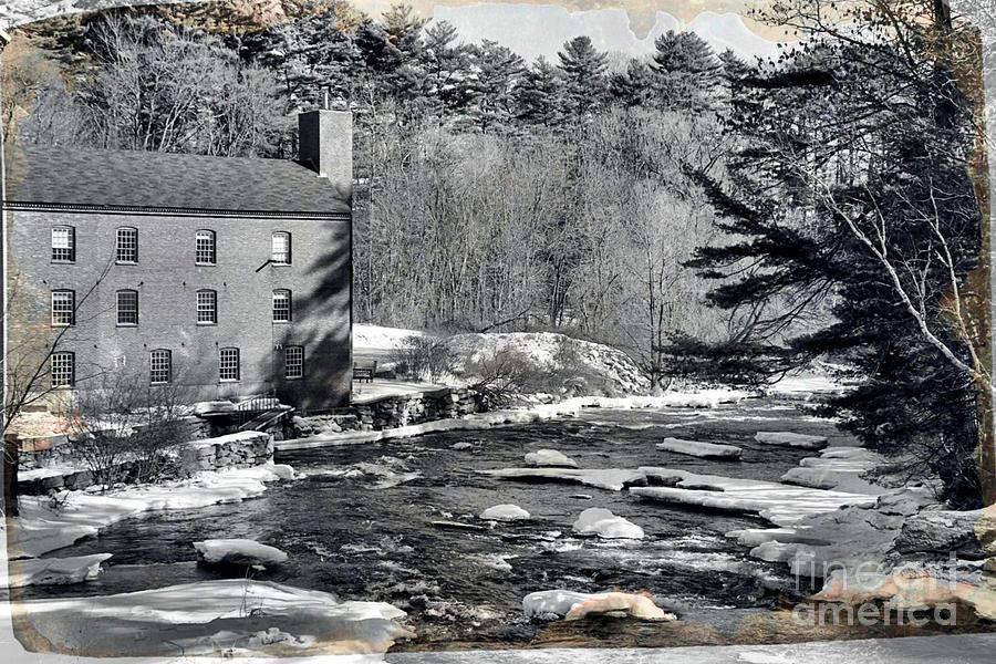 Sparhawk Mill Tin Type Photograph