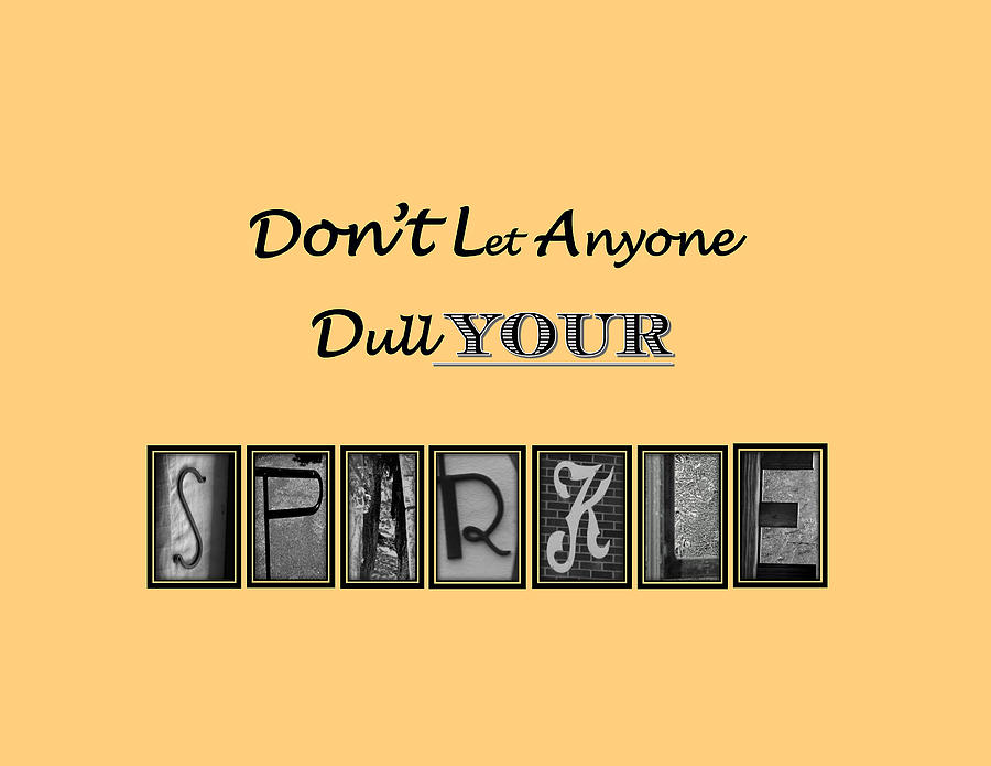 Sparkle Photograph - Sparkle by Sherry L Smith