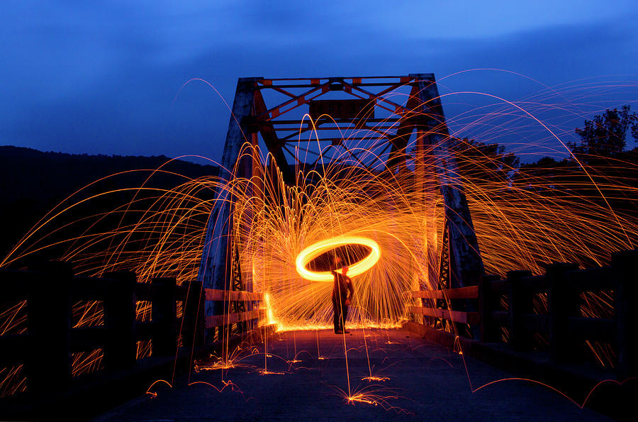 Sparks In The Night Photograph by Tammy Chesney