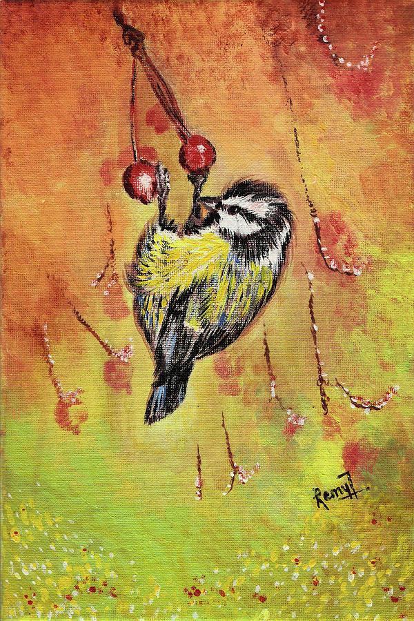 Sparrow Painting - Sparrow - Bird by Remy Francis
