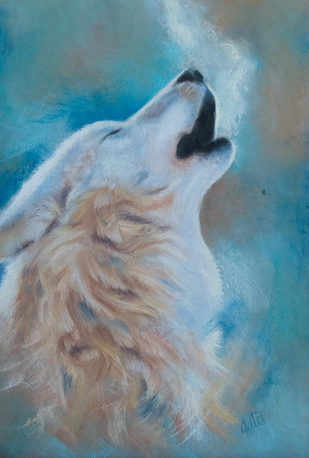 Wolf Pastel - Speak by Joanna Gates