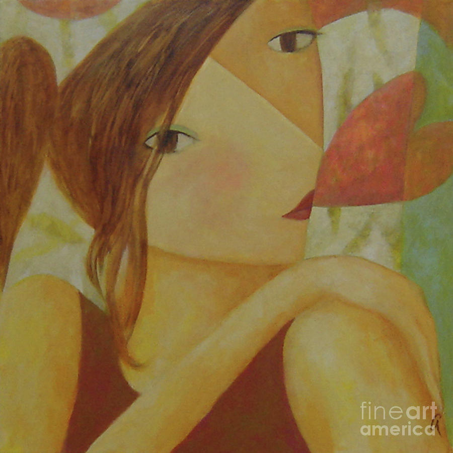 Hearts Painting - Speak With Your Heart by Glenn Quist