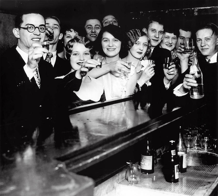 Image result for prohibition toast