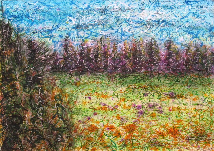 Landscape Painting - Speaking The Landscape by Jason Messinger