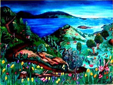 Landscape Painting - Special Land  by Andrew Johnson