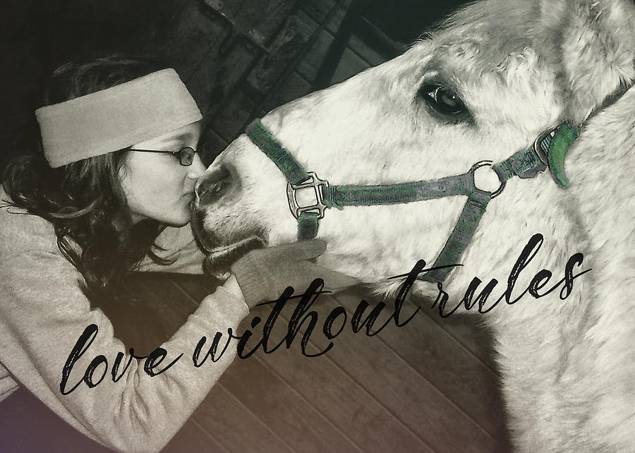 Love Photograph - Special Pony Quote by JAMART Photography