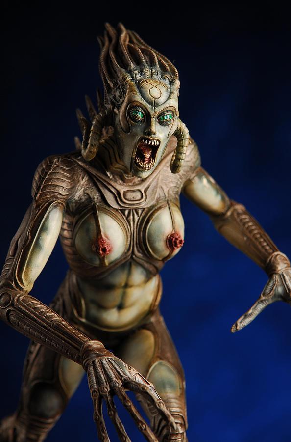Sculpture Mixed Media - Species Figure by Craig Incardone