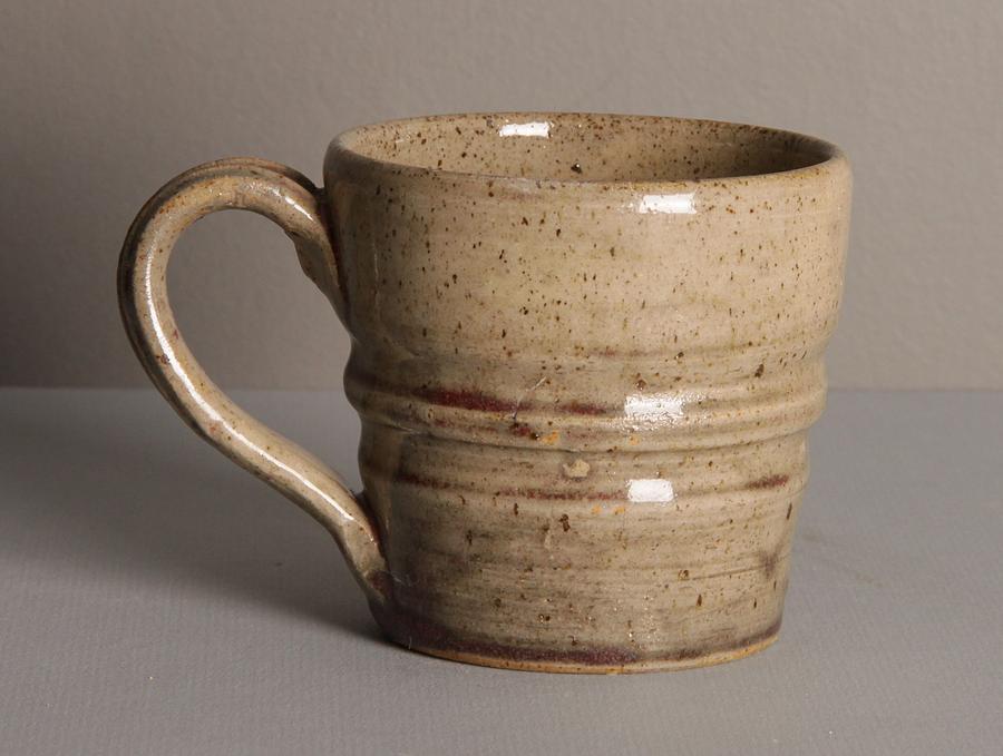 Small Ceramic Art - Speckled Mug by Isaac Getlan