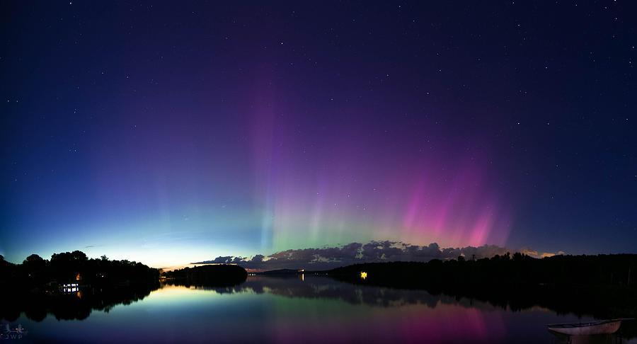 Aurora Photograph - Spectrelight by Jonathan Woodbury