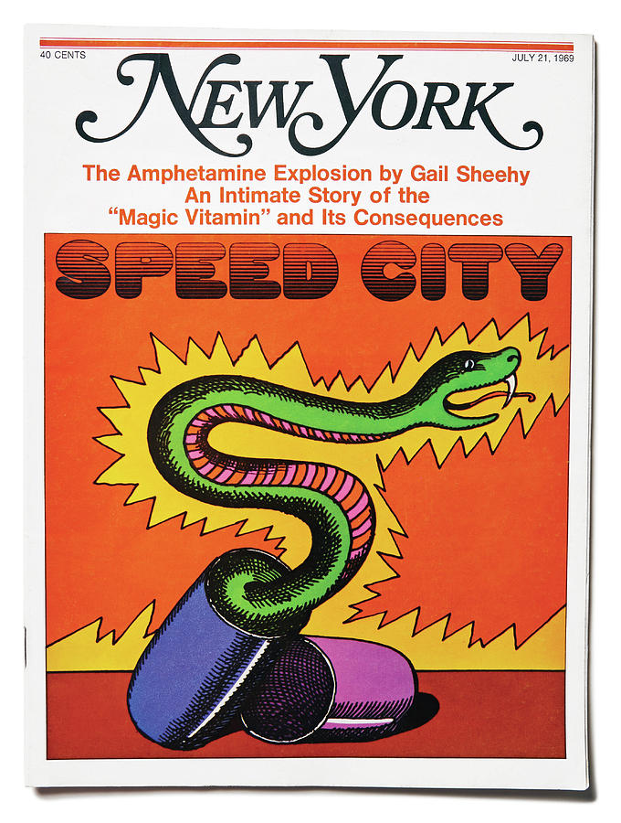 Speed City by Milton Glaser
