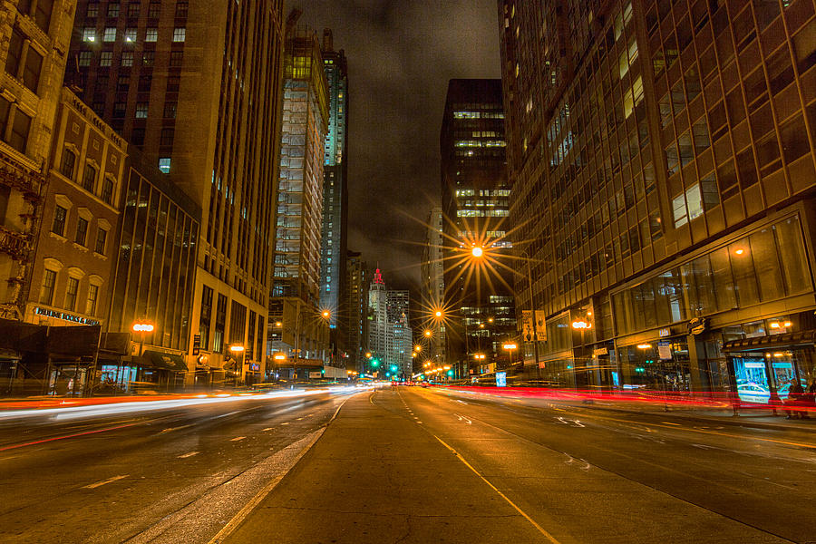 Cityscape Photograph - Speed Of Night by Josh Baker