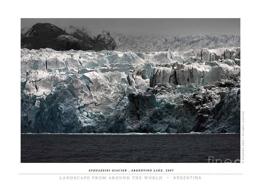 Spegazzini Glacier, Argentino Lake, 2007 by Alejandro Sala