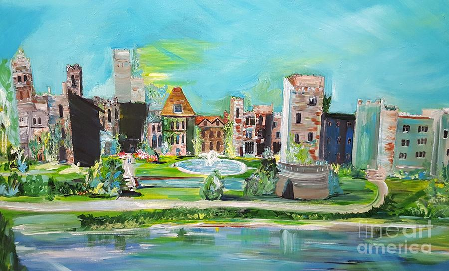e3de84cf02 Ashford Castle Painting - Spellbound Bv Ashford Castle by Jill Morris