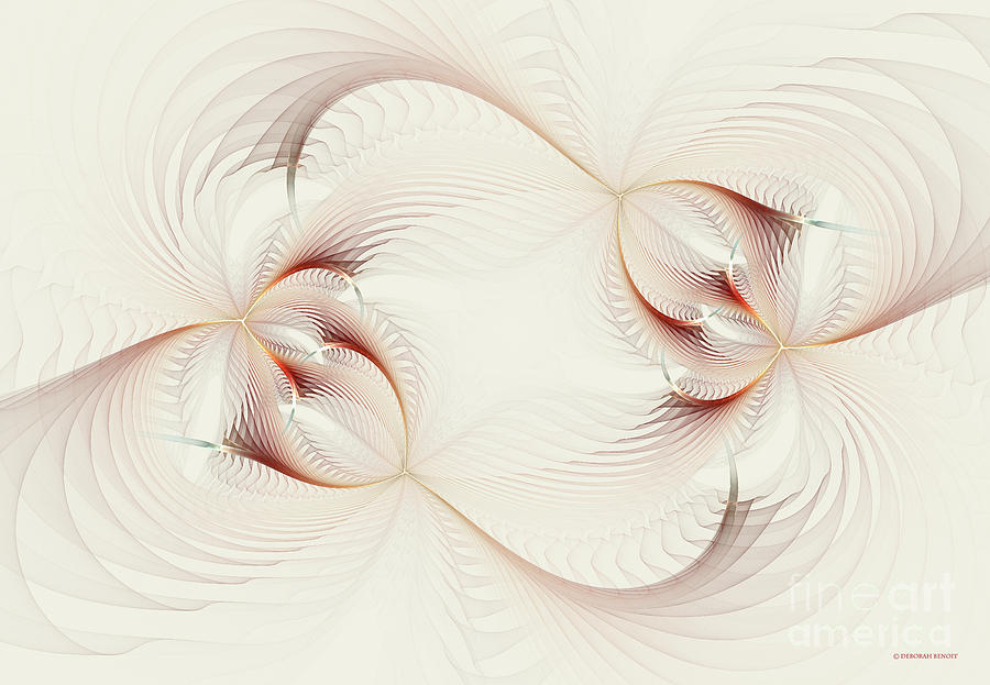 Digital Digital Art - Spher Eye 1 by Deborah Benoit