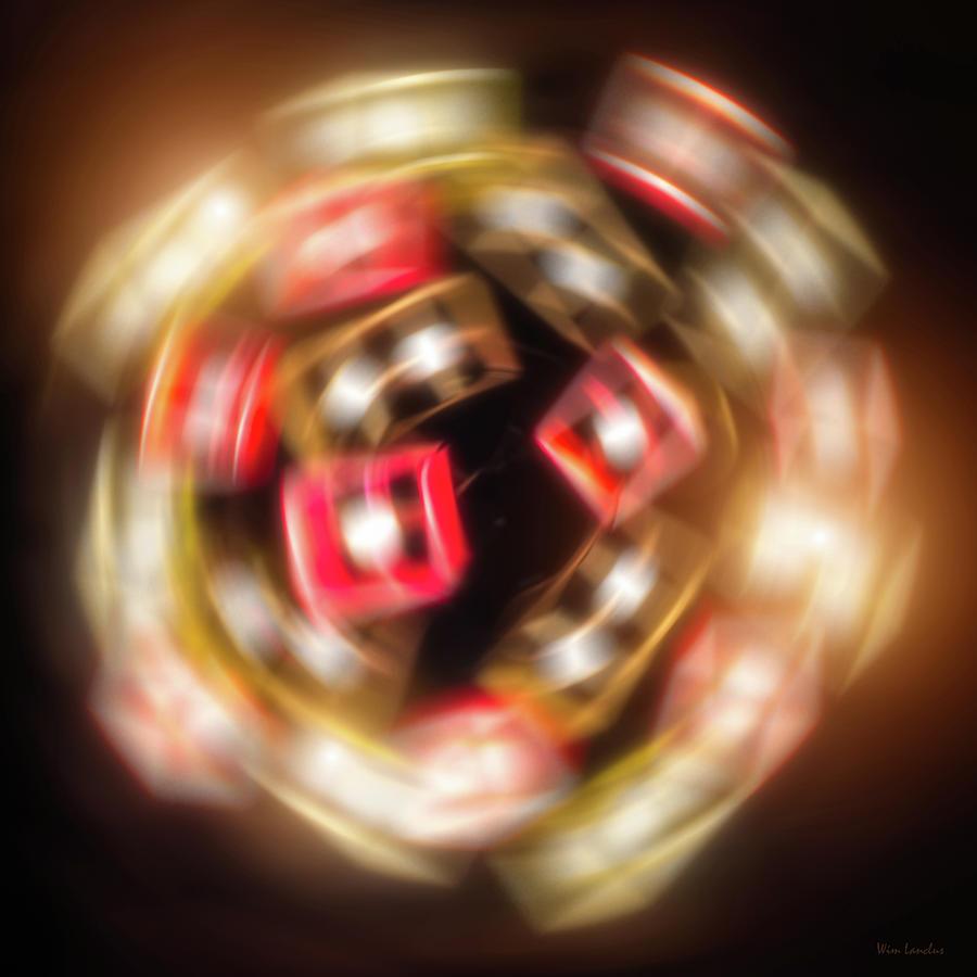 Sphere Digital Art - Sphere Of Light by Wim Lanclus