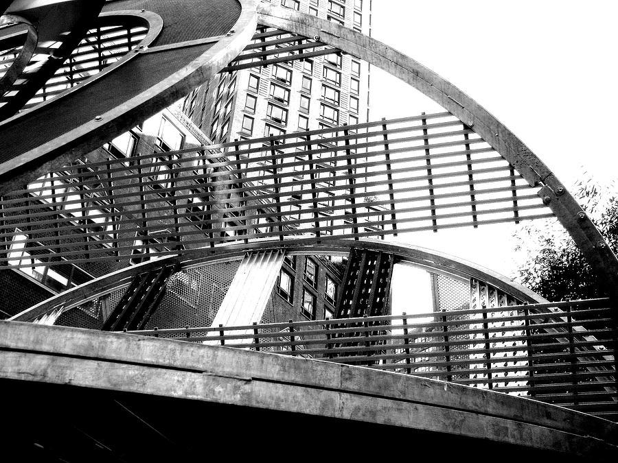 Black And White Photograph - Spheres II by Oksana Pelts