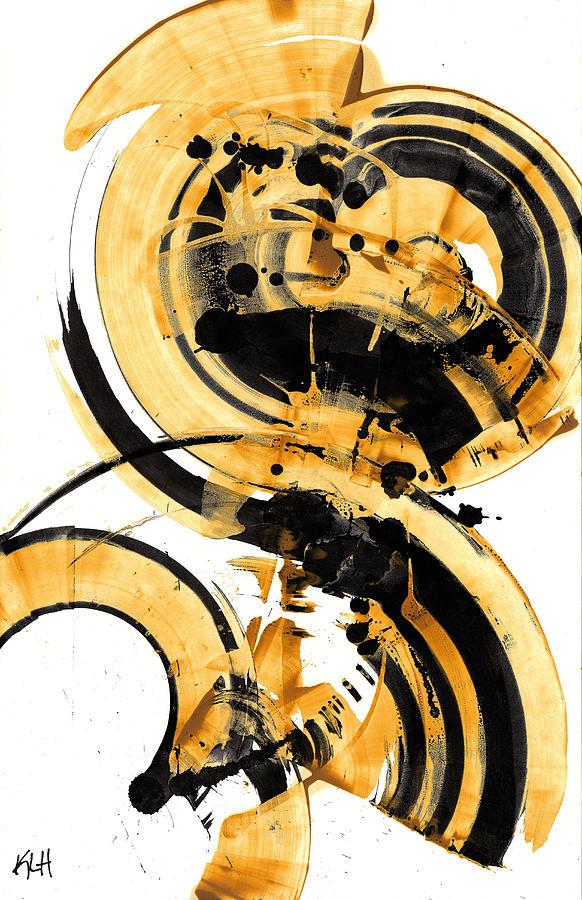 Spherical Joy Series 135.122410 Painting by Kris Haas