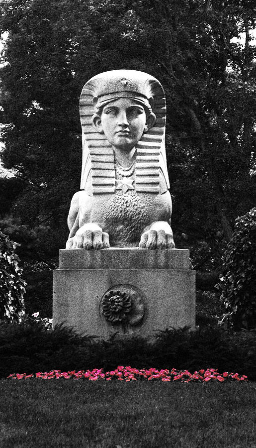 Sphinx In New England Photograph by Brigid Nelson