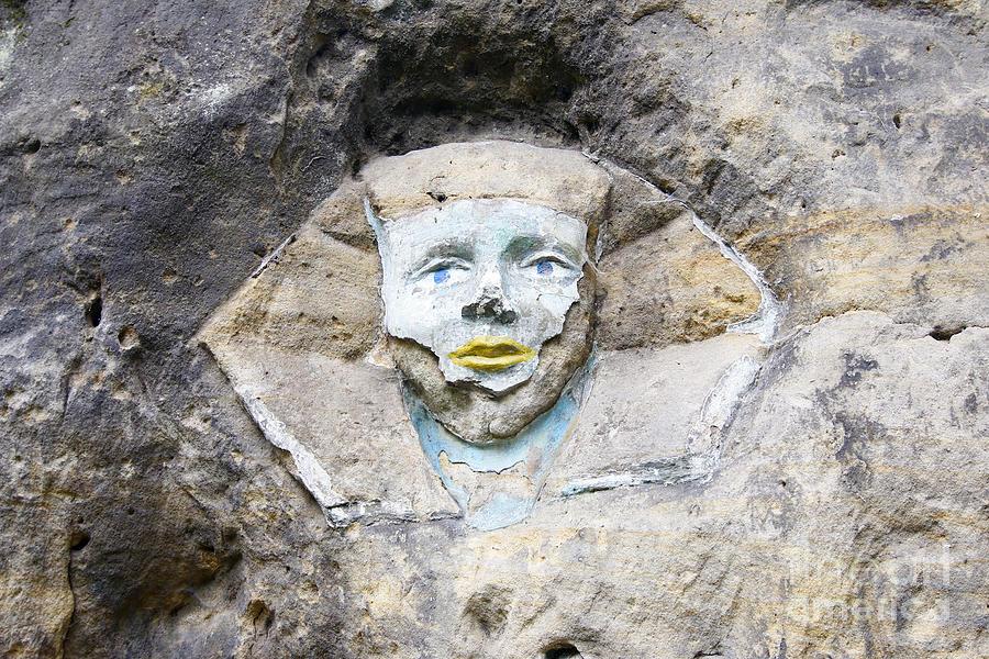 Sphinx Photograph - Sphinx - Rock Sculpture by Michal Boubin