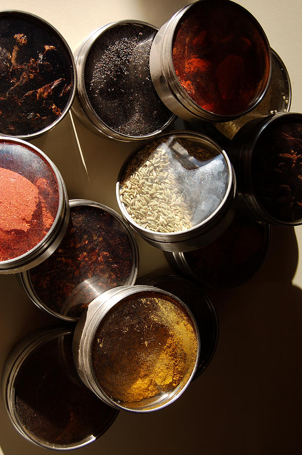 Spices Photograph - Spices by Heather S Huston