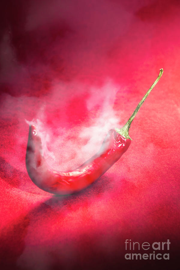 Pepper Photograph - Spicy Food Art by Jorgo Photography - Wall Art Gallery