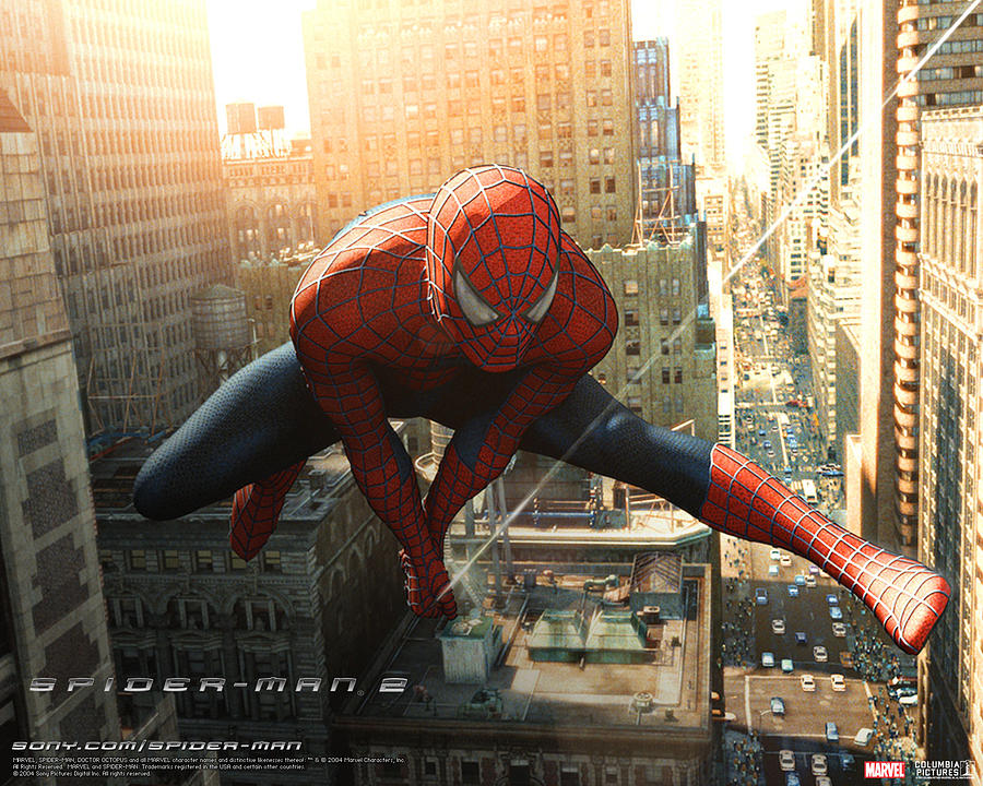 Spider-man 2 Digital Art - Spider-man 2 by Dorothy Binder