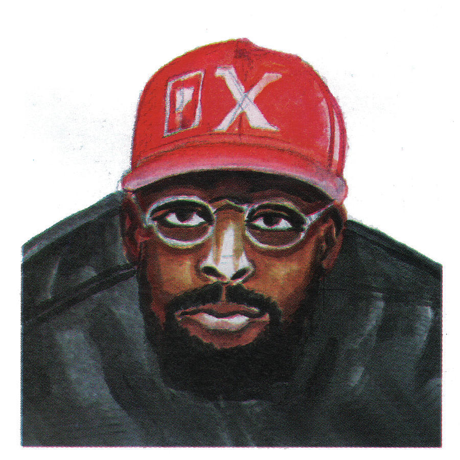 Portraits Painting - Spike Lee by Emmanuel Baliyanga