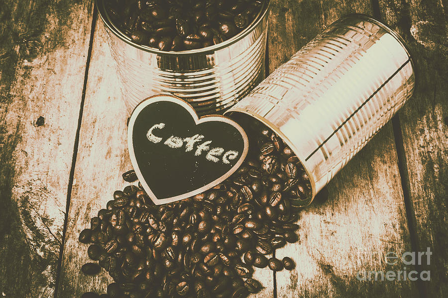 Cafe Photograph - Spilling The Beans by Jorgo Photography - Wall Art Gallery