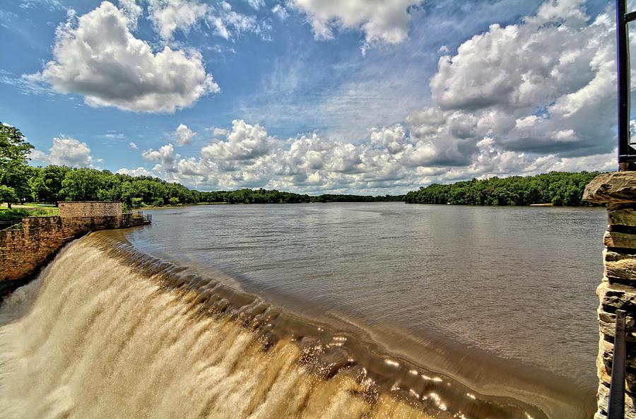 Dam Photograph - Spillover by Bonfire Photography