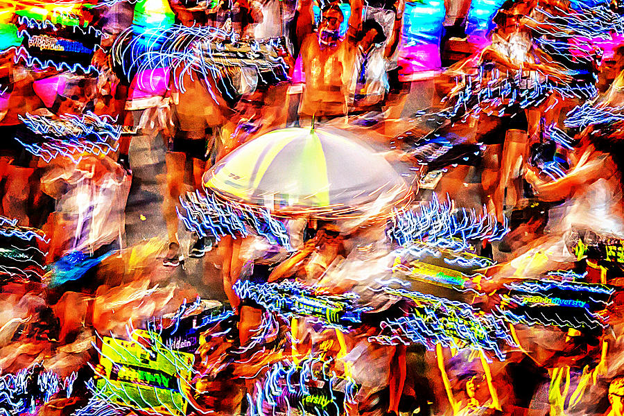Abstract Photography Photograph - Prance Party by Az Jackson