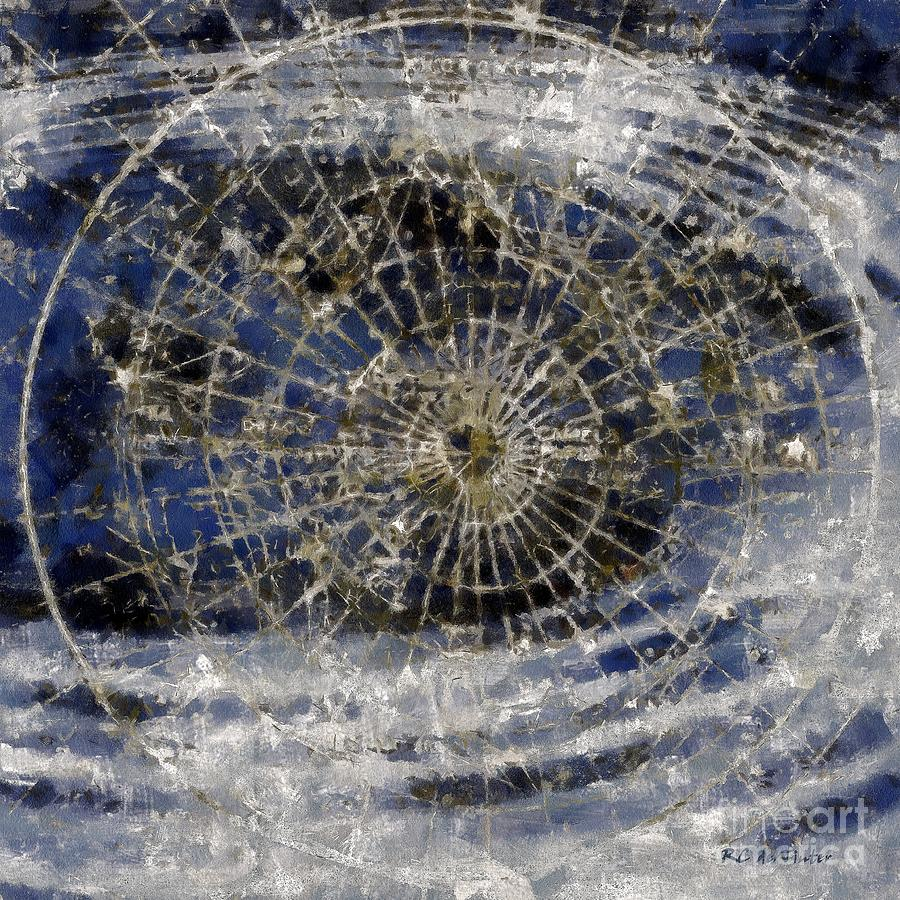 Celestial Painting - Spinning Away by RC DeWinter